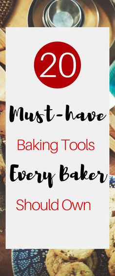 Can't live without these  baking tools, especially during the Holidays!