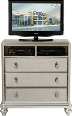 sofia vergara paris silver media chest x x find affordable chests for your home that will complement the rest of your furniture - Sofia Vergara Furniture