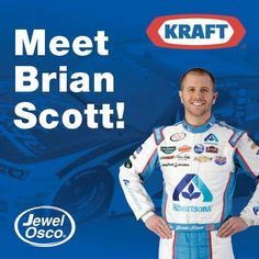 Hey #NASCAR fans! Brian Scott will be at #Albertsons's 1401 Jefferson store tomorrow from 11 am - 12 pm! #BrianScott #NASCAR