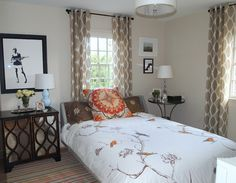 Bedroom Curtain Ideas Design, Pictures, Remodel, Decor and Ideas - page 5