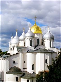 Novgorod Russia - city church