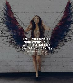 Your wings already exist, All you have to do is fly. ___________________ -Positive Quotes -Life Quotes -Goals… love in the brain by Rihanna Fly Quotes, Girl Quotes, Woman Quotes, Best Quotes, Motivational Quotes, Quotes Positive, Quotes On Positivity, Positive Mindset, Quotes Motivation