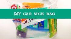 DIY Car Sick Bag
