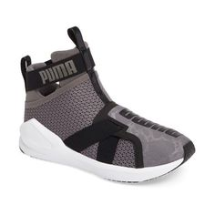 Women's Puma Fierce Strap Training Sneaker (100 PAB) ❤ liked on Polyvore featuring shoes, sneakers, puma sneakers, training shoes, puma shoes, pointy sneakers and strap sneakers