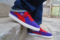 Puma Suede Purple/Red - The Freshandfly