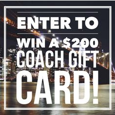 Coach Giveaway   Google Docs