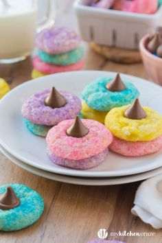 Looking for easy and cute Easter cookie recipes? Get our best ideas for Easter biscuits and Easter cookies. Easter Cookie Recipes, Easy Easter Recipes, Easy Easter Desserts, Easter Deserts, Spring Recipes, Easter Cupcakes, Easter Cookies, Easter Treats, Summer Cookies