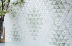 Modern Traditional, Mosaic Patterns, Green Turquoise, Tile Design, Your Space, Hue, Geometry, Triangle, Quilts