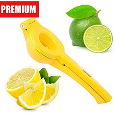Isermeo Premium Lemon Squeezer, Manual Citrus Press  #KitchenUtensilsGadgets
