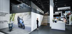 Concept for BMW Moto @ Brussels Motor Show 2016 on Behance