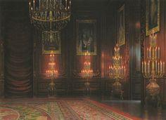 background visual novel anime hall scenery castle studio backgrounds ghibli fantasy episode library vampire moving