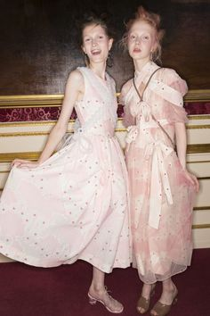 If you love pink, you're going to love Simone Rocha's new collection