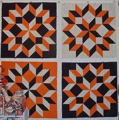 Kim's Big Quilting Adventure: Fun With the Carpenter's Wheel Quilt Pattern