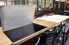La cucina interna del nostro Salotto.  Porto Fluviale, Roma, Ostiense, LTVs, Lancia TrendVisions