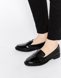 London Rebel High Shine Loafers
