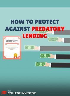 All student loan borrowers need to watch out for predatory lending. Here's what you need to know. Federal Student Loans, Student Loan Debt, Apply For Grants, Private Loans, Student Loan Forgiveness, College Costs, Budgeting Worksheets, Part Time Jobs, Payday Loans