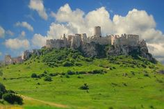 Spissky Hrad, Slovakia. One of the biggest castles in Europe.