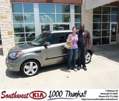 #HappyAnniversary to Amy Taylor on your 2011 #Kia #Soul from Larry Upton at Southwest KIA Rockwall!