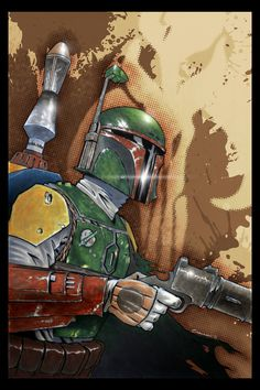 Boba Fett 2.0 by ~voya