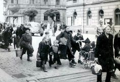 Millions of Germans were expelled from many European countries in 1945