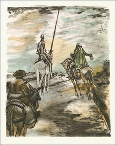 Miguel de Cervantes Saavedra. Don Quixote, the ingenious gentleman of La Mancha. The Limited Editions Club, New York, 1950. Illustrations by Edy Legrand.