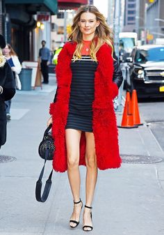 What to Wear for Date Night When It's Freezing Outside via @WhoWhatWear
