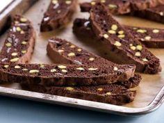 Cantucci de chocolate y pistacho.  Anna Olson