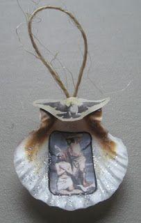 Jesus Baptism ~ John the Baptist ~ Seashell Ornament | Catholic Inspired ~ Arts, Crafts, and Activities!