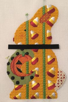 Hippity Hoppity . . .More Bunnies!  << I like the candy corn, but I don't get the black strip.