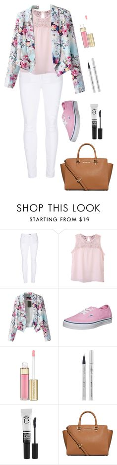 """""""Fainting in spring"""" by farahossama ❤ liked on Polyvore featuring rag & bone, Vans, Dolce&Gabbana, Eyeko and MICHAEL Michael Kors"""