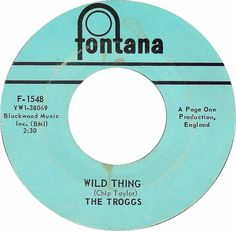 Wild Thing - The Troggs (1966)