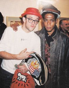 Keith Haring & Jean-Michel Basquiat