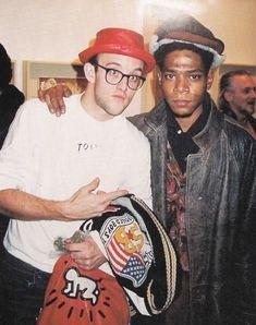 Keith Haring & Jean-Michel Basquiat