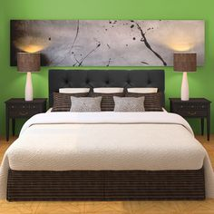 Klein Dark Grey Diamond-tufted Upholstered Headboard - Overstock™ Shopping - Big Discounts on Sole Designs Headboards