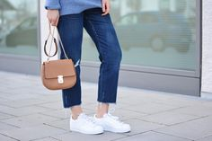 More on www.offwhiteswan.com Wool Knit by COS, Kick Flared Jeans by Zara, Chloé Drew Look-alike by Forever21, Sneaker by Adidas (Superstar) #offwhiteswan #swantjesoemmer