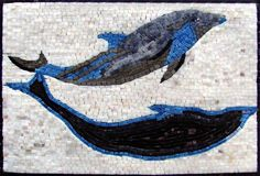 Dolphin Hand Made Marble Mosaic Decorative Wall Floor Bath Pool Mozaico http://www.amazon.com/dp/B003DP5Q5I/ref=cm_sw_r_pi_dp_nclQub08S5GK7