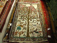Tree-of-Life-Antique-Kashmiri by Carpetbeggers, via Flickr