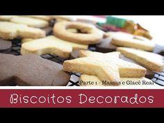 BISCOITO DECORADOS - A MELHOR MASSA E COMO FAZER GLACÊ REAL CASEIRO ♡ BELLARIA CHOCOLATIER - Parte 1 - YouTube