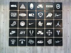 Nike Brand-Biggest rival to Adidas Group Gymnastics Center, Wall Logo, Sport Inspiration, Sub Brands, Environmental Design, Brand Me, Office Art, Bar Mitzvah, Just Do It
