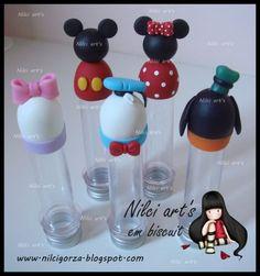 Tubetes turma do Mickey