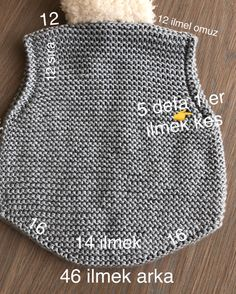 Best 12 – Page 522628731755199667 – Skil - Diy Crafts - Marecipe Baby Boy Knitting Patterns, Knitting For Kids, Knitting Stitches, Crochet Socks, Diy Crochet, Boy Diy Crafts, Knit Vest Pattern, Knitted Baby Cardigan, Knit Basket
