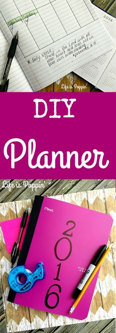Do It Yourself Yearly Planner – Cheap and Easy! Who can believe that it's a new year already? They say the older you get the quicker time sees to fly by and I must say, I couldn't agree more. I remember being little and counting down the years until high school, then my drivers license, [...]