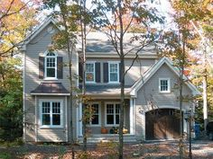 Two-Story House Plan, 027H-0198