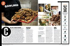 Baltimore Magazine. July 2016. The Essential Crab House Guide. Photography by…