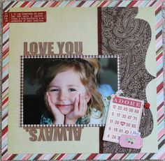 Live-Dream-Create Creations Love You, Scrapbook, Live, Create, Projects, Cards, Decor, Log Projects, Te Amo