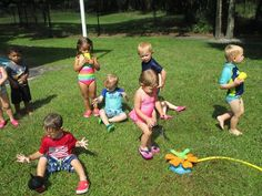 Our little ones are making the most out of beautiful summer days!