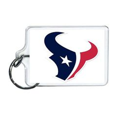 Nfl Houston Texans Acrylic Lucite Keychain x Nfl Houston Texans, Wine Glass, Nfl Sports, Beverage, Festive, Fandom, Graphics, Sweet, Products
