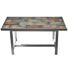 Pallet tiled coffee table by summerwoodbuilding on Etsy, $350.00