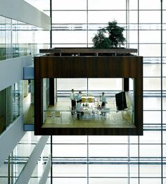 Designed by Scandinavian architecture practice Schmidt Hammer Lassen, the new headquarters for Nykredit, one of the leading mortgage banks in Denmark, is quite stunning.