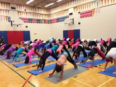 Yesterday JillYoga And Big Brothers Big Sisters Of Canada - Howe public schools